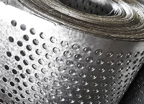 How to do a good job of drawing the surface of the Perforated Metal Mesh